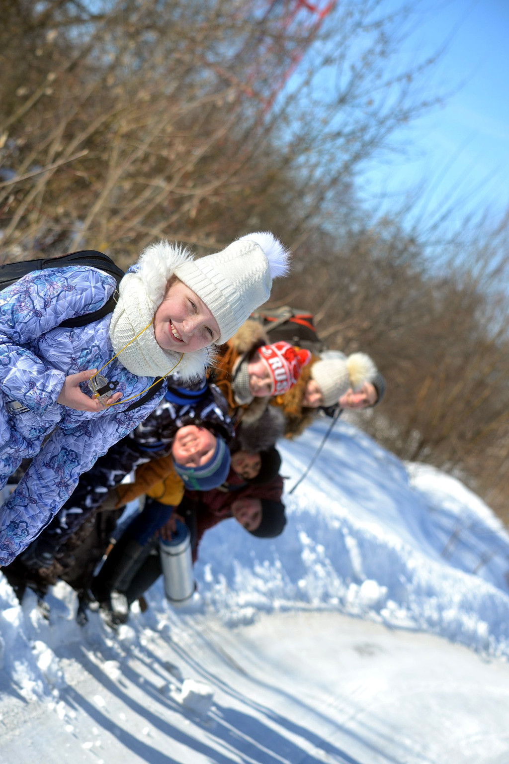 Поход православных скаутов
